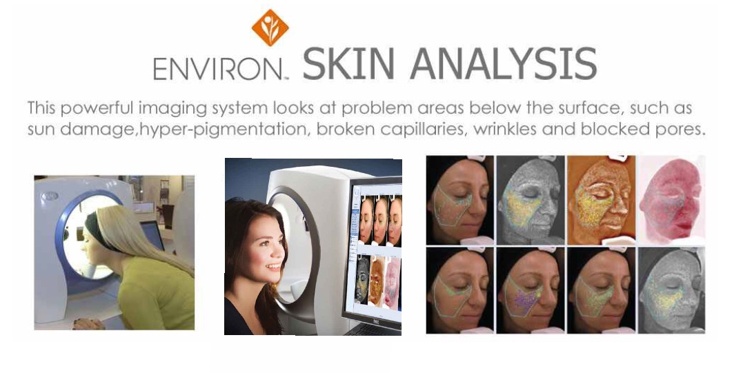 Environ Visia Skin Scanning Technology Event