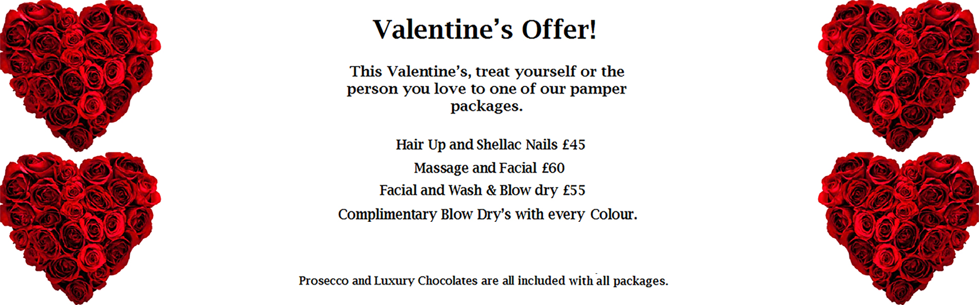 Valentine's Offer at Blake & Butler
